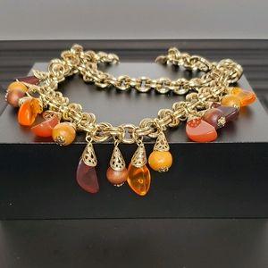 Jewelmint Double Chain Choker Necklace